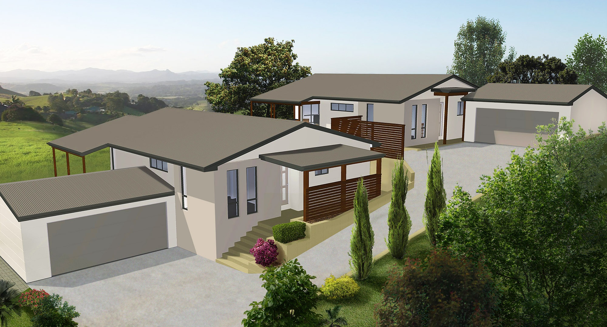 Plateau Homes - Wollumbin Units Artist Impression