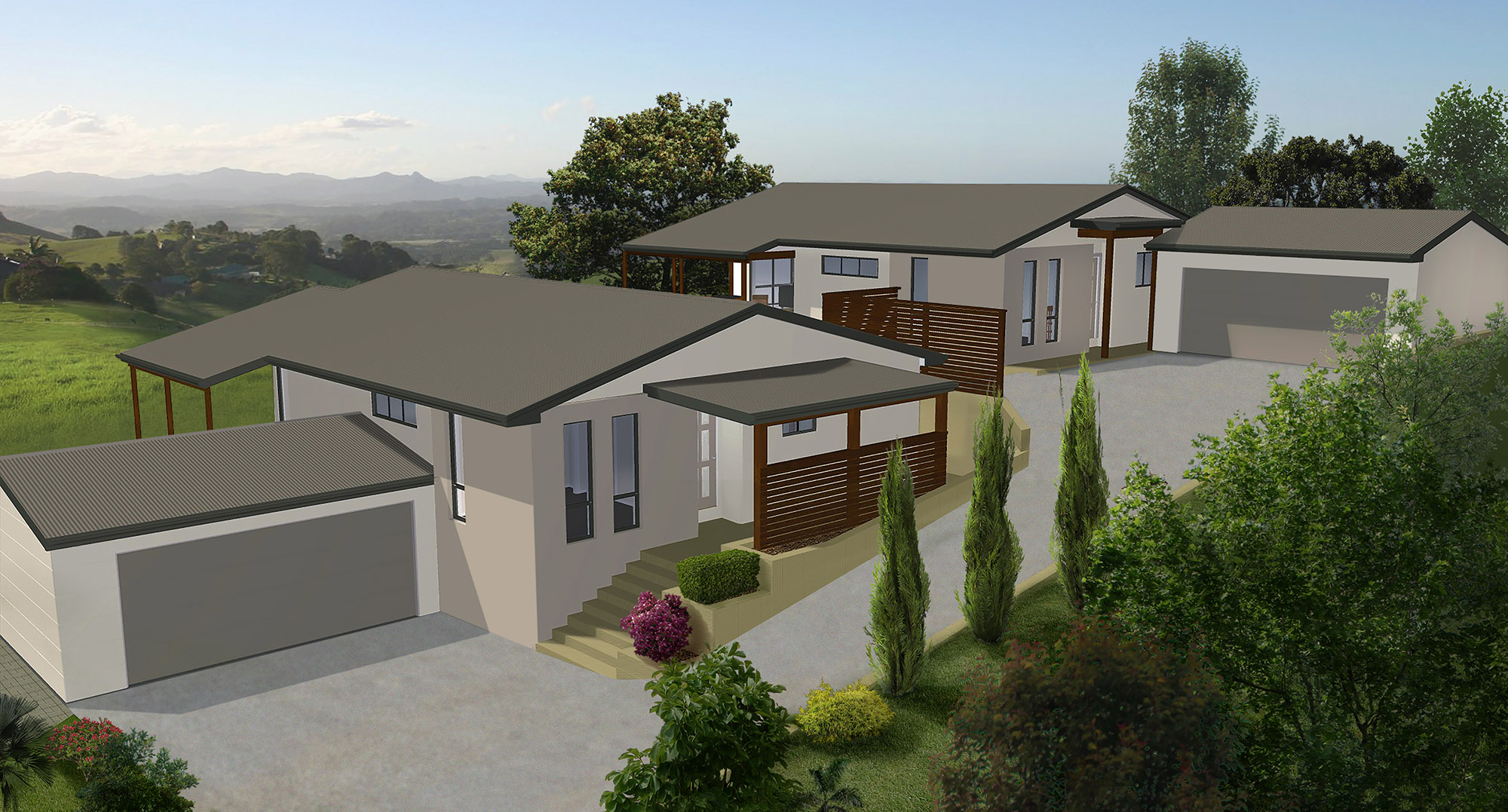Wollumbin Units | Artists Impression
