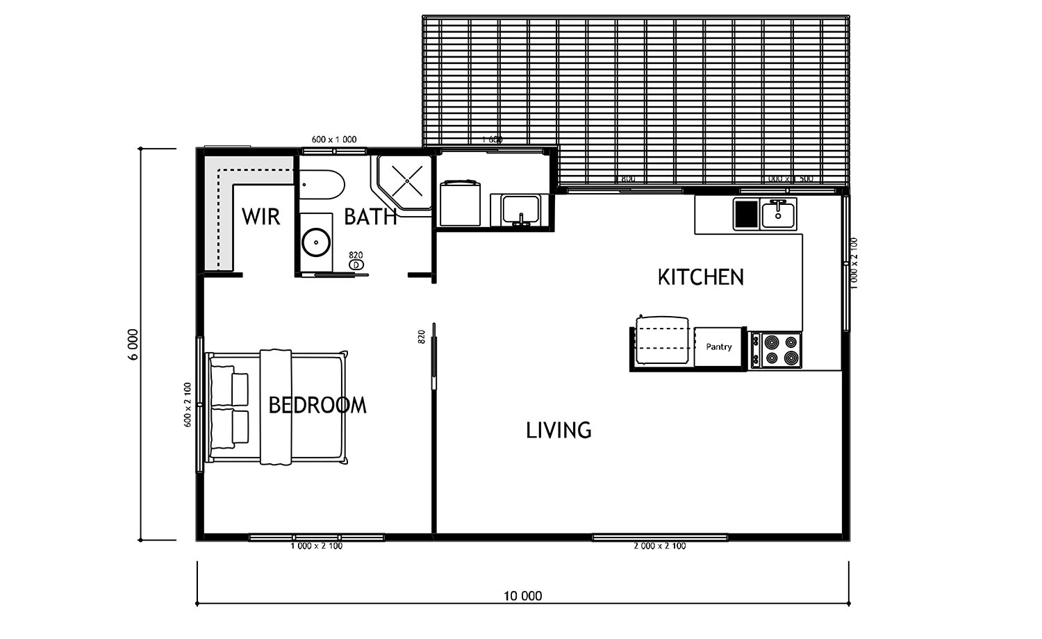 100 Granny Flats Plans Floor Flat Plan For 1
